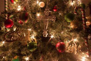 Decorating for Christmas @ EMPC- Sanctuary